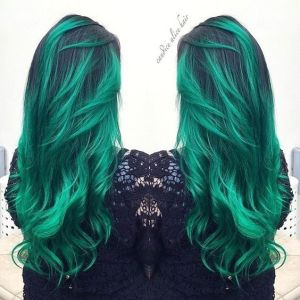 green-hair