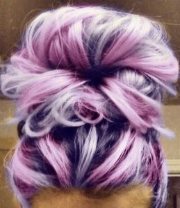pinky-purple-hair