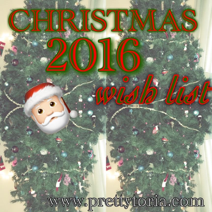 Christmas 2016 WishList